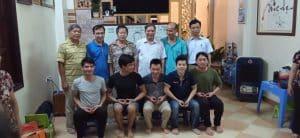 Buổi học bế giảng môn học khí công y đạo